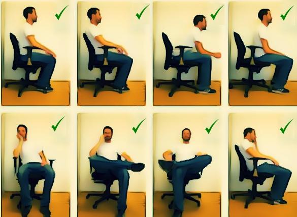 Sitting variation