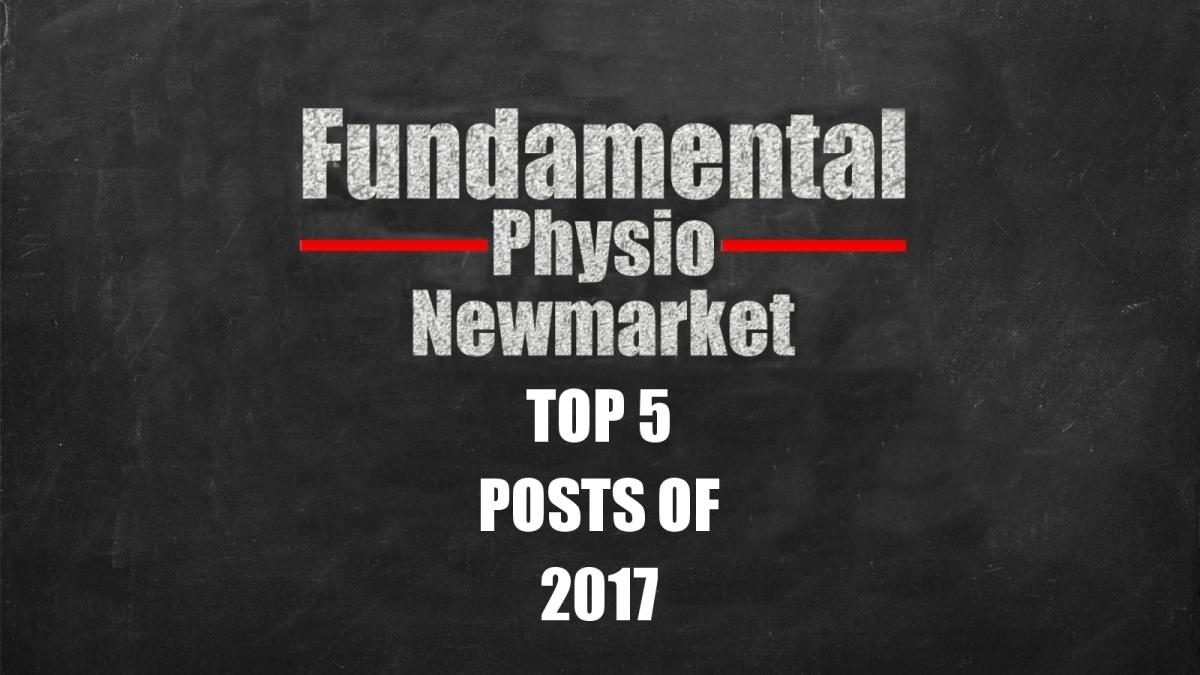 Top 5 Posts of2017