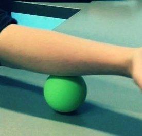 Lacrosse forearm